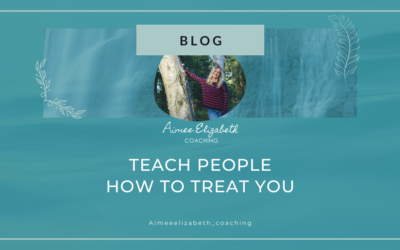 Teach People How To Treat you- an Introduction to Healthy Boundaries